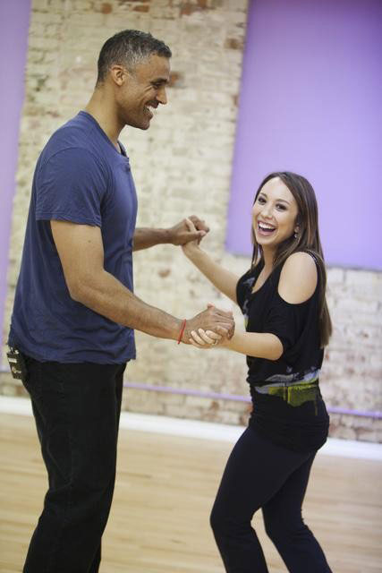 "<div class=""meta image-caption""><div class=""origin-logo origin-image ""><span></span></div><span class=""caption-text"">Rick Fox teams up with two-time champ Cheryl Burke, who is back for her tenth season.  The season 11 star-studded cast and their professional partners get ready to break in their dancing shoes on ABC' 'Dancing With the Stars' for the long awaited two-hour season premiere, Monday, September 20. (ABC/Greg Zabilski)</span></div>"