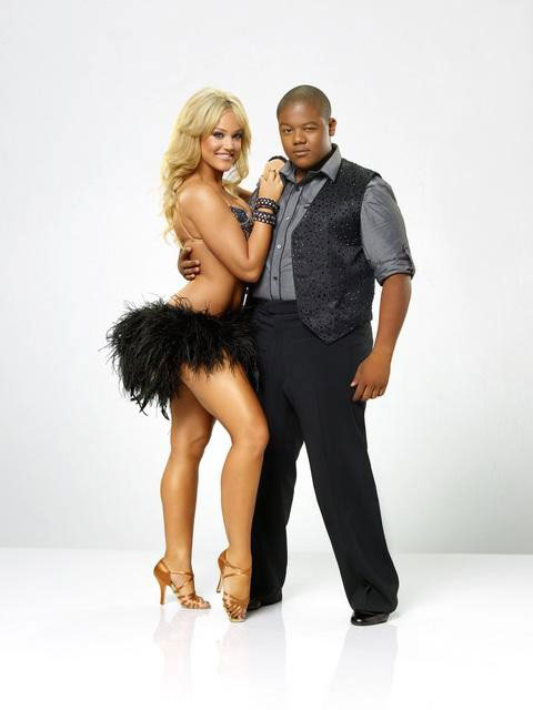 Kyle Orlando Massey partners up with Lacey Schwimmer, who is back for her third season. The season 11 star-studded cast and their professional partners get ready to break in their dancing shoes on ABC&#39; &#39;Dancing With the Stars&#39; for the long awaited two-hour season premiere, Monday, September 20. <span class=meta>(ABC&#47;Bob D&#39;Amico)</span>