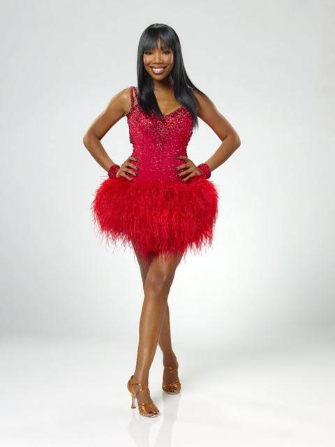 Brandy joins Maksim Chmerkovskiy, who is back for his ninth season. The season 11 star-studded cast and their professional partners get ready to break in their dancing shoes on ABC&#39; &#39;Dancing With the Stars&#39; for the long awaited two-hour season premiere, Monday, September 20. <span class=meta>(ABC&#47;Bob D&#39;Amico)</span>