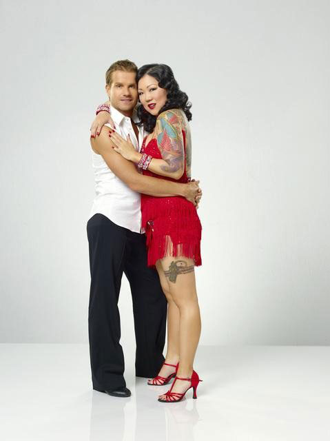 Margaret Cho partners with Louis van Amstel, who returns for his seventh season.