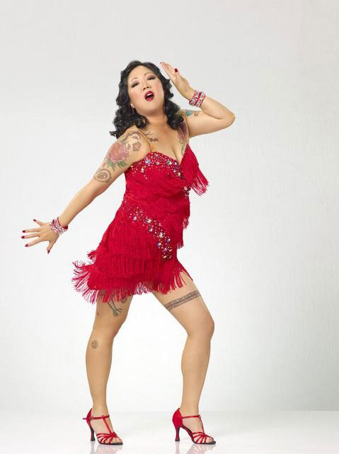 Margaret Cho partners with Louis van Amstel, who returns for his seventh season. The season 11 star-studded cast and their professional partners get ready to break in their dancing shoes on ABC&#39; &#39;Dancing With the Stars&#39; for the long awaited two-hour season premiere, Monday, September 20. <span class=meta>(ABC&#47;Bob D&#39;Amico)</span>