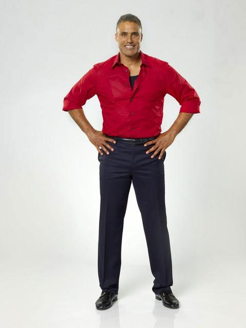 Rick Fox teams up with two-time champ Cheryl Burke, who is back for her tenth season.  The season 11 star-studded cast and their professional partners get ready to break in their dancing shoes on ABC&#39; &#39;Dancing With the Stars&#39; for the long awaited two-hour season premiere, Monday, September 20. <span class=meta>(ABC&#47;Bob D&#39;Amico)</span>