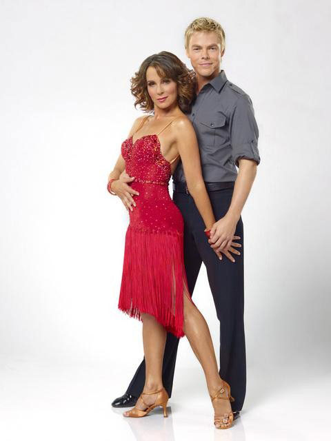 Jennifer Grey joins two-time mirror ball champion Derek Hough for his seventh season. The season 11 star-studded cast and their professional partners get ready to break in their dancing shoes on ABC&#39; &#39;Dancing With the Stars&#39; for the long awaited two-hour season premiere, Monday, September 20. <span class=meta>(ABC&#47;Bob D&#39;Amico)</span>