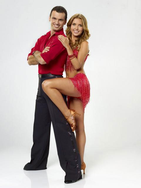 Audrina Patridge joins Tony Dovolani, who is back for his tenth season. The season 11 star-studded cast and their professional partners get ready to break in their dancing shoes on ABC&#39; &#39;Dancing With the Stars&#39; for the long awaited two-hour season premiere, Monday, September 20. <span class=meta>(ABC&#47;Bob D&#39;Amico)</span>