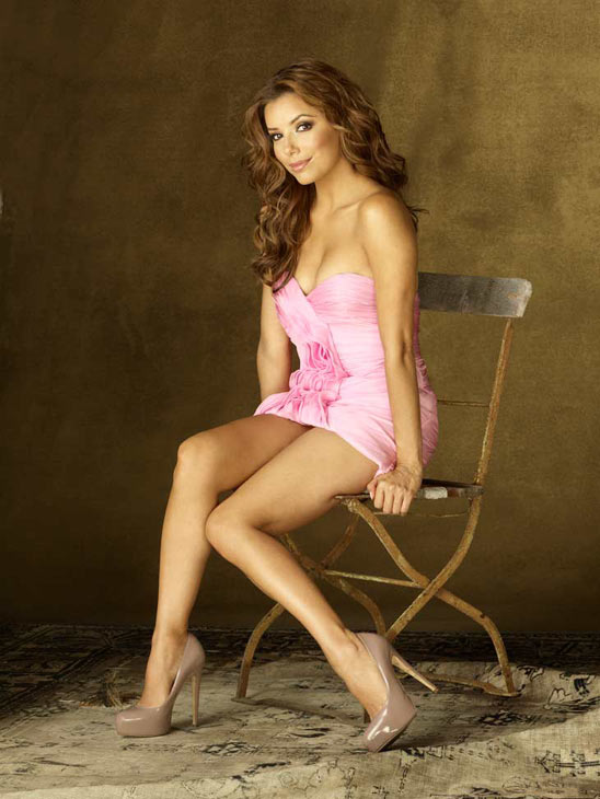 Eva Longoria Eva Longoria appears in a promotional image for &#39;Desperate Housewives&#39;, which returns for a seventh season on September 26. <span class=meta>(Photo courtesy of ABC)</span>