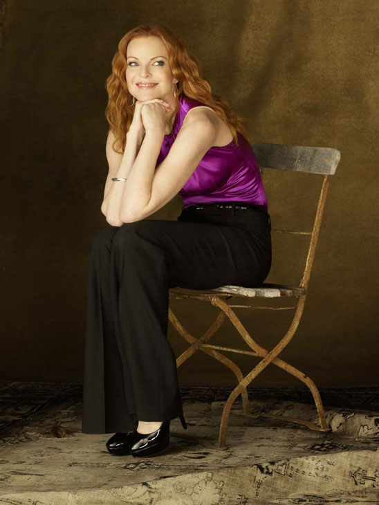 Marcia Cross appears in a promotional image for &#39;Desperate Housewives&#39;, which returns for a seventh season on September 26. <span class=meta>(Photo courtesy of ABC)</span>