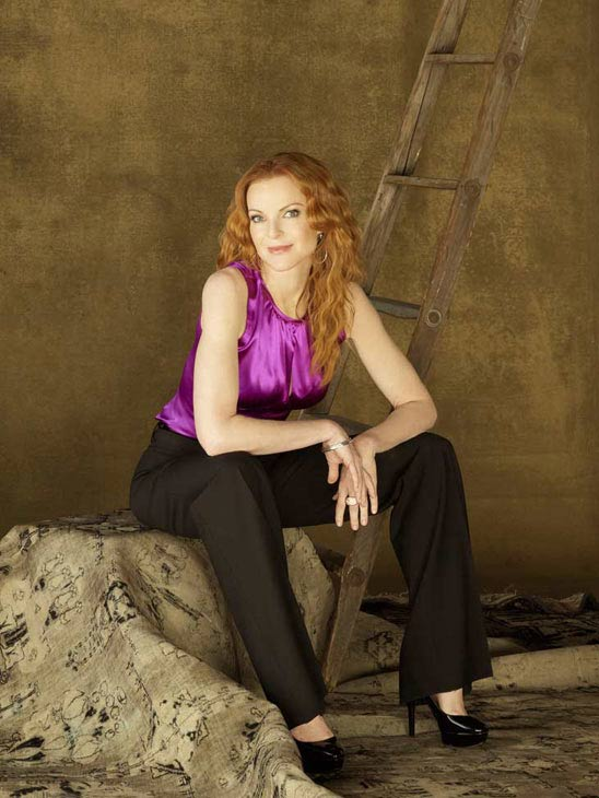 "<div class=""meta ""><span class=""caption-text "">Marcia Cross appears in a promotional image for 'Desperate Housewives', which returns for a seventh season on September 26. (Photo courtesy of ABC)</span></div>"