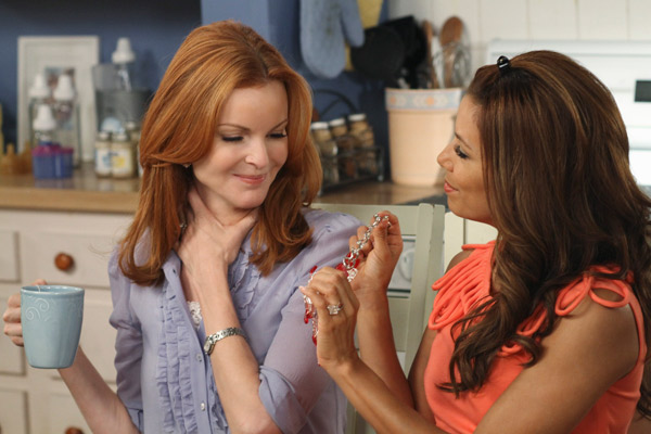Marcia Cross and Eva Longoria appear in a scene...