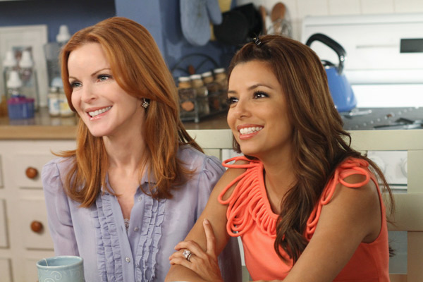 Marcia Cross and Brian Austin Green appear in a scene from &#39;Desperate Housewives&#39;, which returns for a seventh season on September 26. <span class=meta>(Photo courtesy of ABC)</span>
