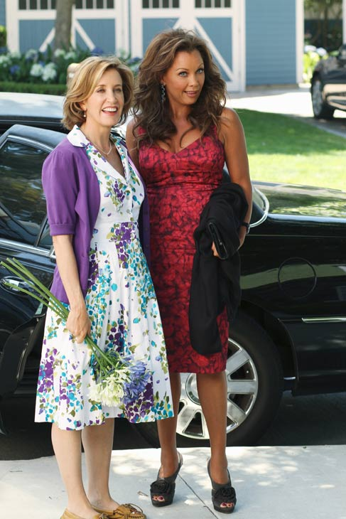 "<div class=""meta ""><span class=""caption-text "">Felicity Huffman and Vanessa Williams appear in a scene from 'Desperate Housewives', which returns for a seventh season on September 26. (Photo courtesy of ABC)</span></div>"