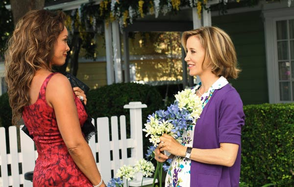 Vanessa Williams and Felicity Huffman appear in a scene from 'Desperate Housewives', which returns for a seventh season on September 26.