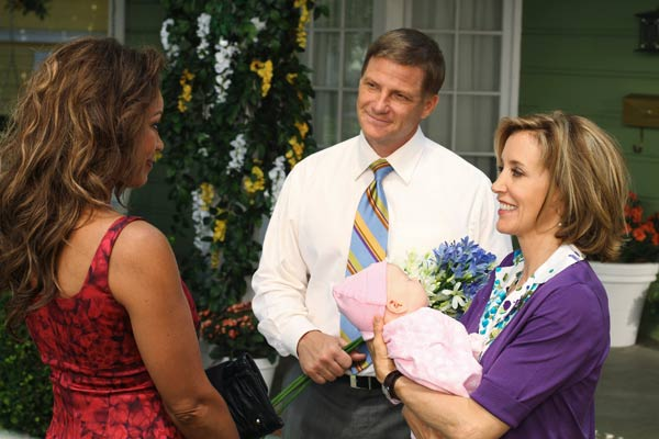 Vanessa Williams, Doug Savant and Felicity Huffman appear in a scene from 'Desperate Housewives', which returns for a seventh season on September 26.