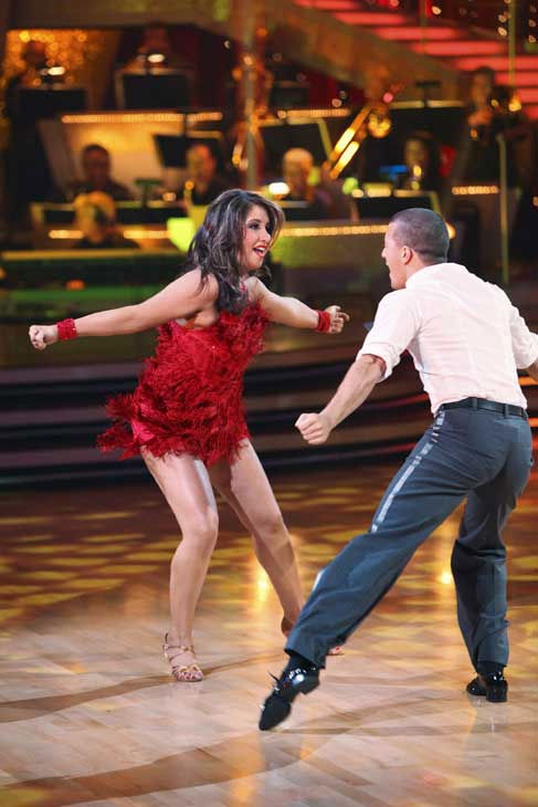 Bristol Palin and Mark Ballas perform on &#39;Dancing With the Stars,&#39; Monday, Sept.  20, 2010. The judges gave the couple 18 points out of 30. <span class=meta>(ABC Photo&#47; Adam Larkey)</span>