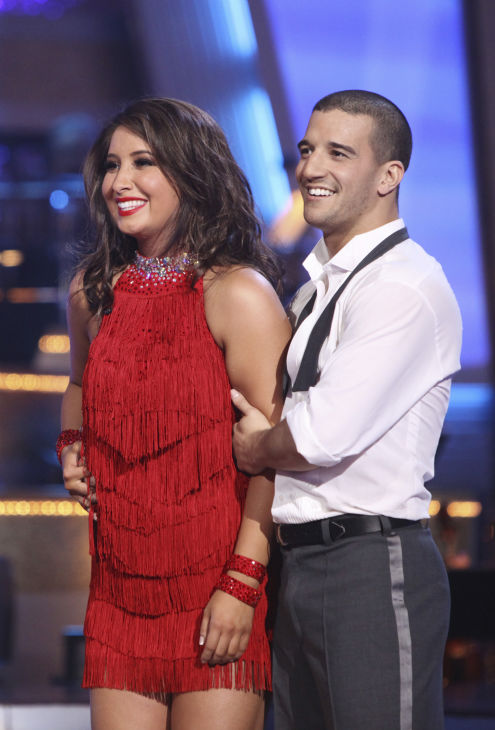 Bristol Palin and Mark Ballas perform on 'Dancing With the Stars,' Monday, Sept.  20, 2010. The judges gave the couple 18 points out of 30.