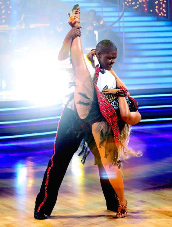 Kyle Massey and Lacey Schwimmer perform on &#39;Dancing With the Stars,&#39; Monday, Sept.  20, 2010. The judges gave the couple 23 points out of 30. <span class=meta>(ABC Photo&#47; Adam Larkey)</span>