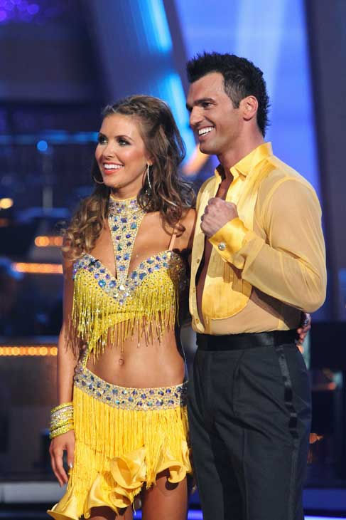 "<div class=""meta image-caption""><div class=""origin-logo origin-image ""><span></span></div><span class=""caption-text"">Audrina Patridge and Tony Dovolani perform on 'Dancing With the Stars,' Monday, Sept.  20, 2010. The judges gave the couple 19 points out of 30. (ABC Photo/ Adam Larkey)</span></div>"