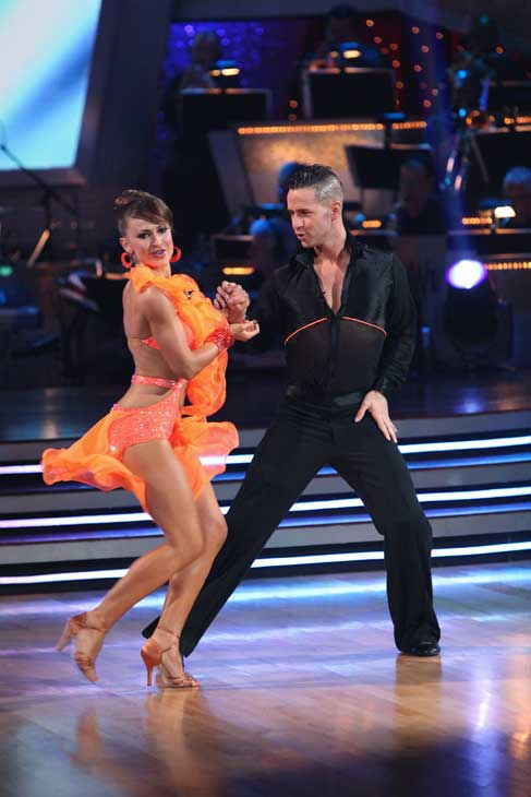 "<div class=""meta ""><span class=""caption-text "">Mike 'The Situation' Sorrentino and Karina Smirnoff perform on 'Dancing With the Stars,' Monday, Sept.  20, 2010. The judges gave the couple 15 points out of 30. (ABC Photo/ Adam Larkey)</span></div>"