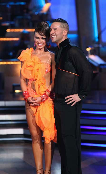 "<div class=""meta image-caption""><div class=""origin-logo origin-image ""><span></span></div><span class=""caption-text"">Mike 'The Situation' Sorrentino and Karina Smirnoff perform on 'Dancing With the Stars,' Monday, Sept.  20, 2010. The judges gave the couple 15 points out of 30. (ABC Photo/ Adam Larkey)</span></div>"