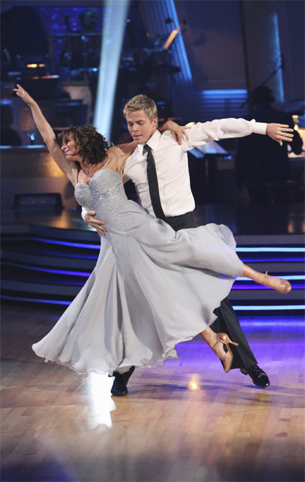 "<div class=""meta image-caption""><div class=""origin-logo origin-image ""><span></span></div><span class=""caption-text"">Jennifer Grey and Derek Hough perform on 'Dancing With the Stars,' Monday, Sept.  20, 2010. The judges gave the couple 24 points out of 30. (ABC Photo/ Adam Larkey)</span></div>"