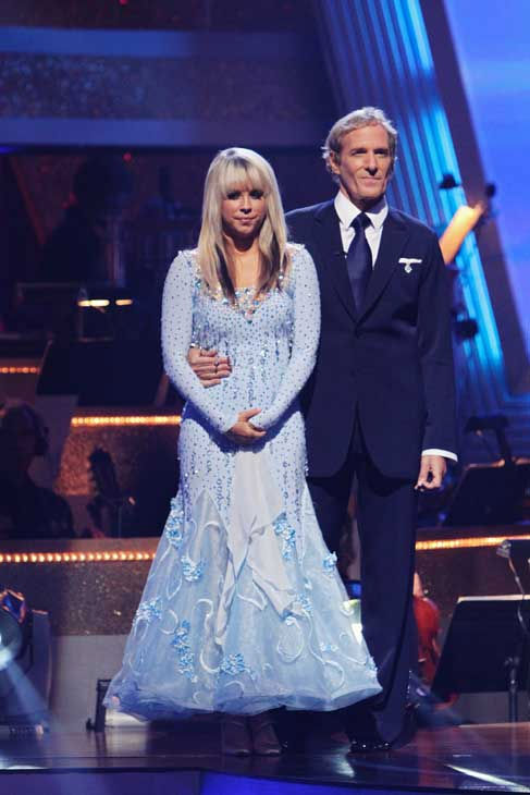 "<div class=""meta ""><span class=""caption-text "">Michael Bolton and Chelsie Hightower wait their fate on 'Dancing With the Stars: The Results Show,' Tuesday, Sept.  21, 2010. The judges gave the couple 16 points out of 30. (ABC Photo/ Adam Larkey)</span></div>"