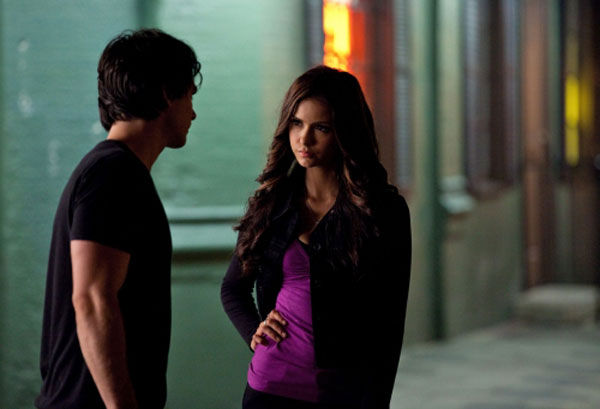 &#39;Memory Lane&#39; - Damon Makes A Dangerous Enemy - Stefan &#40;Paul Wesley&#41; takes drastic measures to find out the real reason Katherine &#40;Nina Dobrev&#41; has returned to Mystic Falls, and is shocked when she reveals new secrets about what really happened in 1864.  Damon &#40;Ian Somerhalder&#41; tries a new tactic to resolve his issues with Mason, &#40;guest star Taylor Kinney&#41;, but it proves costly.  Tyler &#40;Michael Trevino&#41; pushes Mason to tell him the truth about the Lockwoods. Finally, when Katherine delivers an ultimatum, Stefan and Elena &#40;Nina Dobrev&#41; are left with very few options.  Sara Canning, Candice Accola, Zach Roerig and Matt Davis also star.  Rob Hardy directed the episode written by Caroline Dries. <span class=meta>(Bob Mahoney&#47;The CW)</span>