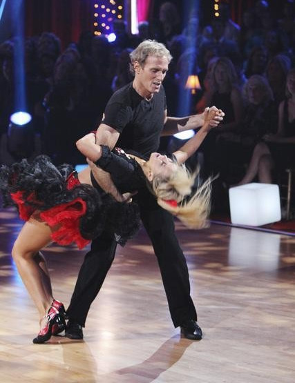 "<div class=""meta image-caption""><div class=""origin-logo origin-image ""><span></span></div><span class=""caption-text"">Michael Bolton and Chelsie Hightower perform on 'Dancing With the Stars,' Monday, Sept. 27, 2010. The judges gave the couple 12 points out of 30. (ABC/ Adam Larkey)</span></div>"