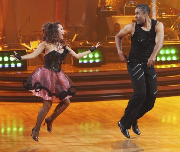 "<div class=""meta image-caption""><div class=""origin-logo origin-image ""><span></span></div><span class=""caption-text"">Rick Fox and Cheryl Burke perform on 'Dancing With the Stars,' Monday, Sept. 27, 2010. The judges gave the couple 21 points out of 30. (ABC/ Adam Larkey)</span></div>"