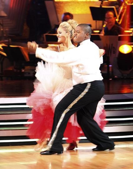 "<div class=""meta image-caption""><div class=""origin-logo origin-image ""><span></span></div><span class=""caption-text"">Kyle Massey and Lacey Schwimmer perform on 'Dancing With the Stars,' Monday, Sept.  27, 2010. The judges gave the couple 22 points out of 30. (ABC/ Adam Larkey)</span></div>"
