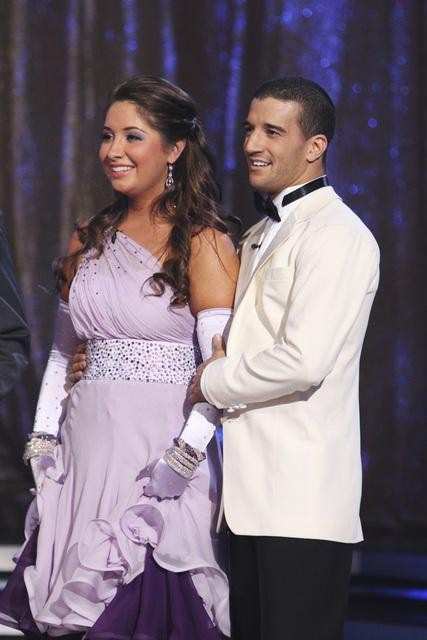 Bristol Palin and Mark Ballas perform on 'Dancing With the Stars,' Monday, Sept. 27, 2010. The judges gave the couple 22 points out of 30.