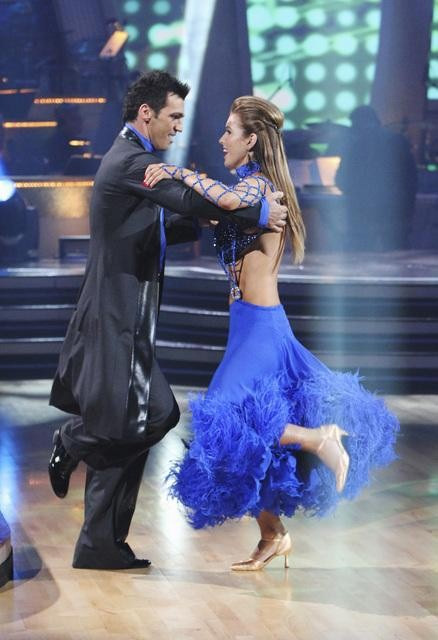 "<div class=""meta ""><span class=""caption-text "">Audrina Patridge and Tony Dovolani perform on 'Dancing With the Stars,' Monday, Sept. 27, 2010. The judges gave the couple 23 points out of 30. (ABC/ Adam Larkey)</span></div>"
