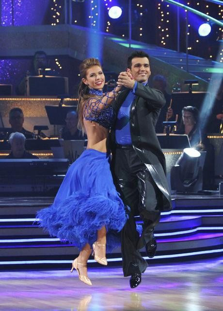 "<div class=""meta image-caption""><div class=""origin-logo origin-image ""><span></span></div><span class=""caption-text"">Audrina Patridge and Tony Dovolani perform on 'Dancing With the Stars,' Monday, Sept. 27, 2010. The judges gave the couple 23 points out of 30. (ABC/ Adam Larkey)</span></div>"