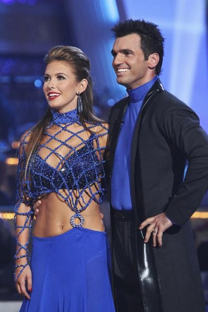 Audrina Patridge and Tony Dovolani perform on &#39;Dancing With the Stars,&#39; Monday, Sept. 27, 2010. The judges gave the couple 23 points out of 30. <span class=meta>(ABC&#47; Adam Larkey)</span>