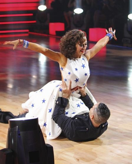 "<div class=""meta image-caption""><div class=""origin-logo origin-image ""><span></span></div><span class=""caption-text"">Mike 'The Situation' Sorrentino and Karina Smirnoff perform on 'Dancing With the Stars,' Monday, Sept.  27, 2010. The judges gave the couple 18 points out of 30. (ABC/ Adam Larkey)</span></div>"