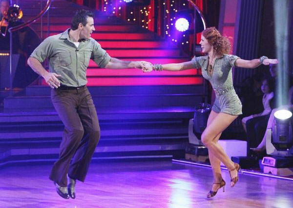 "<div class=""meta ""><span class=""caption-text "">Kurt Warner and Anna Trebunskaya perform on 'Dancing With the Stars,' Monday, Sept. 27, 2010. The judges gave the couple 21 points out of 30. (ABC/ Adam Larkey)</span></div>"
