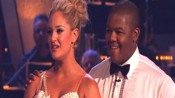 "<div class=""meta ""><span class=""caption-text "">Kyle Massey and Lacey Schwimmer perform on 'Dancing With the Stars,' Monday, Sept.  27, 2010. The judges gave the couple 22 points out of 30. (KABC Photo)</span></div>"