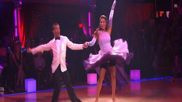 "<div class=""meta ""><span class=""caption-text "">Bristol Palin and Mark Ballas perform on 'Dancing With the Stars,' Monday, Sept. 27, 2010. The judges gave the couple 22 points out of 30. (KABC Photo)</span></div>"