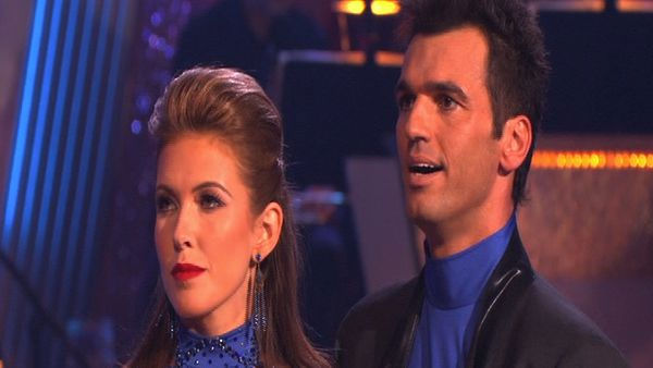 Audrina Patridge and Tony Dovolani perform on &#39;Dancing With the Stars,&#39; Monday, Sept. 27, 2010. The judges gave the couple 23 points out of 30. <span class=meta>(KABC Photo)</span>