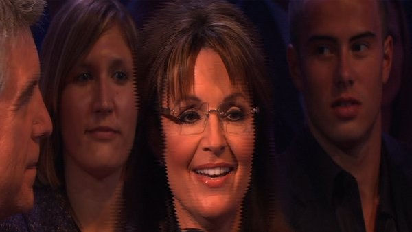 Sarah Palin cheers on Bristol Palin on &#39;Dancing With the Stars,&#39; Monday, Sept. 27, 2010. <span class=meta>(KABC Photo)</span>