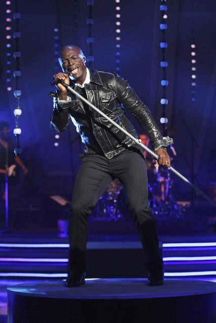 "<div class=""meta image-caption""><div class=""origin-logo origin-image ""><span></span></div><span class=""caption-text"">Seal performed on 'Dancing With the Stars: The Results Show,' Tuesday, Sept. 28, 2010. (Adam Larkey)</span></div>"