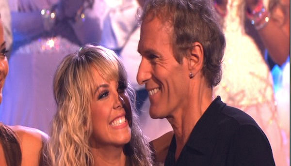 "<div class=""meta image-caption""><div class=""origin-logo origin-image ""><span></span></div><span class=""caption-text"">Michael Bolton and Chelsie Hightower react to being eliminated on 'Dancing With the Stars: The Results Show,' Tuesday, Sept. 28, 2010. The judges gave the couple 12 points out of 30. (ABC Photo)</span></div>"