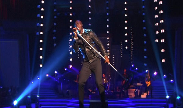 Seal performed on 'Dancing With the Stars: The Results Show,' Tuesday, Sept. 28, 2010.
