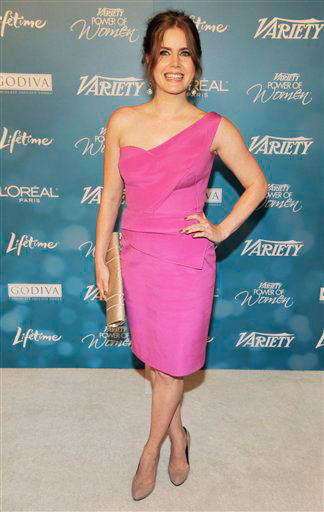 Amy Adams arrives for Variety's 2nd Annual Power of Women Luncheon in Beverly Hills, Calif., Thursday, Sept. 30, 2010.