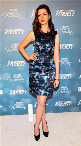Actress Anne Hathaway arrives for Variety's 2nd...