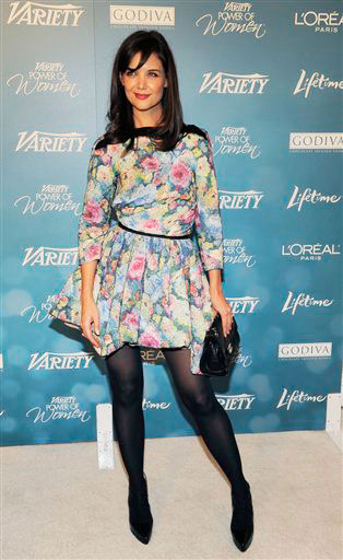 Honoree Katie Holmes arrives for Variety's 2nd...