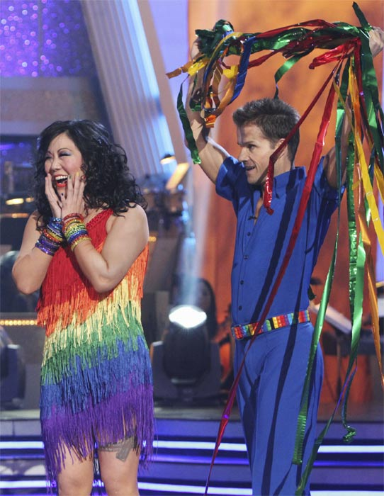 "<div class=""meta image-caption""><div class=""origin-logo origin-image ""><span></span></div><span class=""caption-text"">Margaret Cho and Louis van Amstel perform on 'Dancing With the Stars,' Monday, Oct. 4, 2010. The judges gave the couple 18 points out of 30. (ABC Photo/ Adam Larkey)</span></div>"