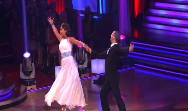 "<div class=""meta ""><span class=""caption-text "">Bristol Palin and Mark Ballas perform on 'Dancing With the Stars,' Monday, Oct. 4, 2010. The judges gave the couple 19 points out of 30. (KABC Photo)</span></div>"