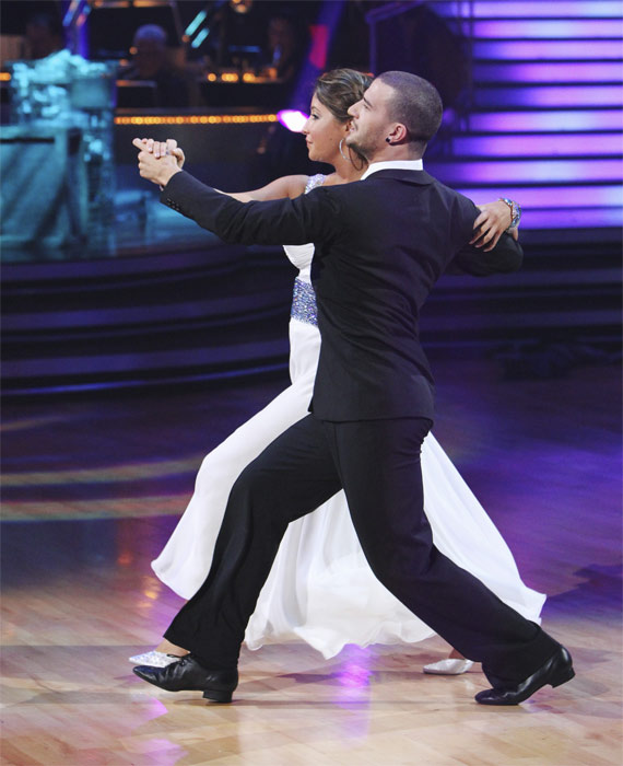 "<div class=""meta image-caption""><div class=""origin-logo origin-image ""><span></span></div><span class=""caption-text"">Bristol Palin and Mark Ballas perform on 'Dancing With the Stars,' Monday, Oct. 4, 2010. The judges gave the couple 19 points out of 30. (ABC Photo/ Adam Larkey)</span></div>"