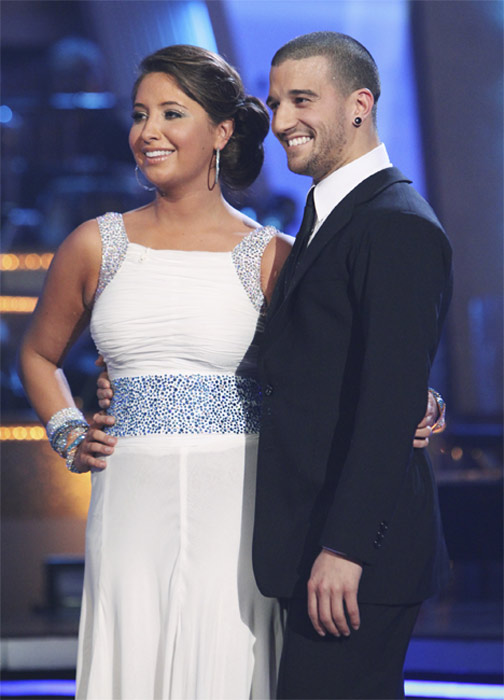 Bristol Palin and Mark Ballas perform on &#39;Dancing With the Stars,&#39; Monday, Oct. 4, 2010. The judges gave the couple 19 points out of 30. <span class=meta>(ABC Photo&#47; Adam Larkey)</span>