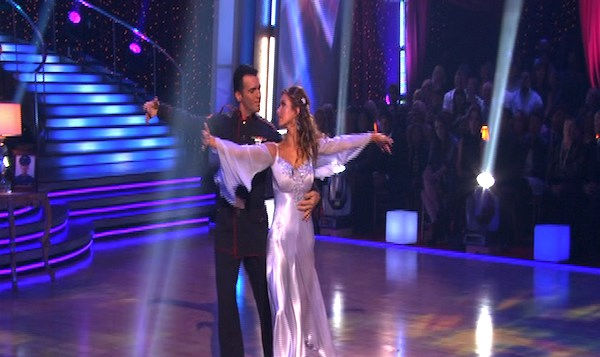 "<div class=""meta ""><span class=""caption-text "">Audrina Patridge and Tony Dovolani perform on 'Dancing With the Stars,' Monday, Oct. 4, 2010. The judges gave the couple 26 points out of 30. (KABC Photo)</span></div>"