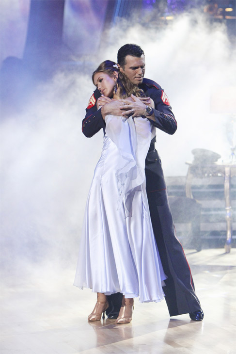 Audrina Patridge and Tony Dovolani perform on &#39;Dancing With the Stars,&#39; Monday, Oct. 4, 2010. The judges gave the couple 26 points out of 30. <span class=meta>(ABC Photo&#47; Adam Larkey)</span>